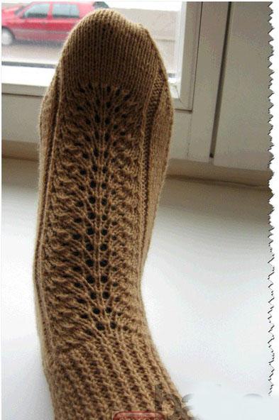 Носки на двух спицах: схема вязания с описанием, мастер-класс
