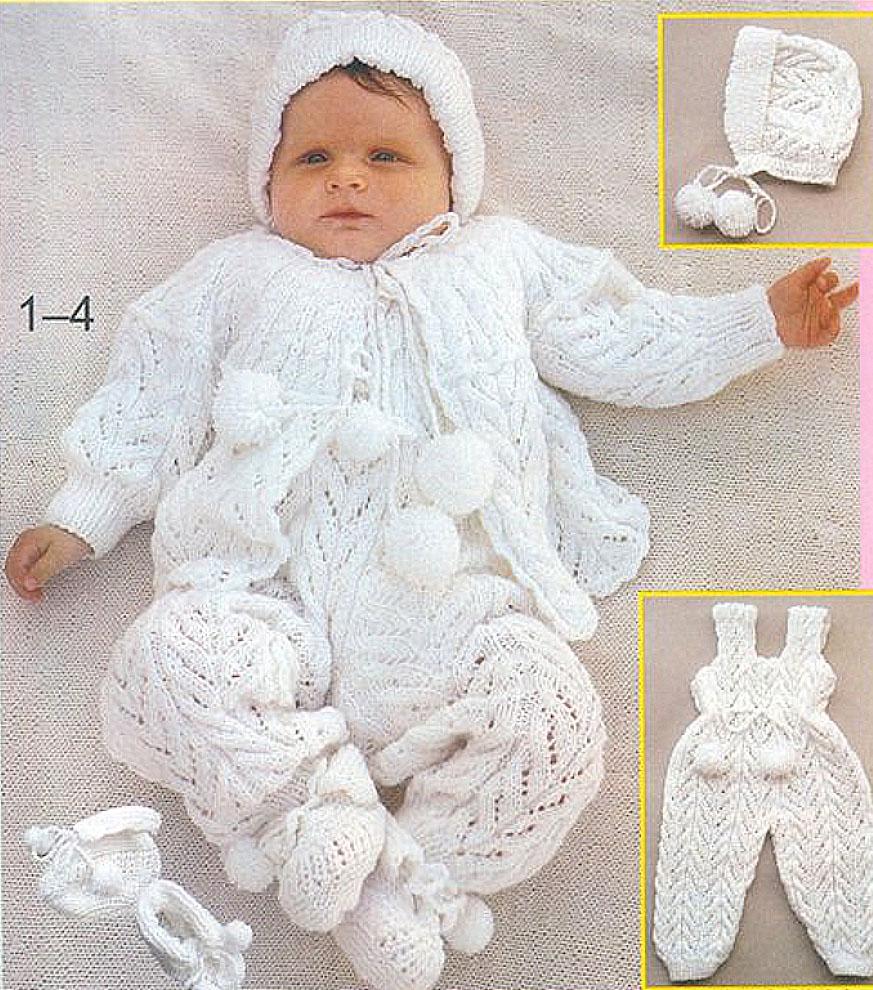 вязание костюма для кристин мальчик схема